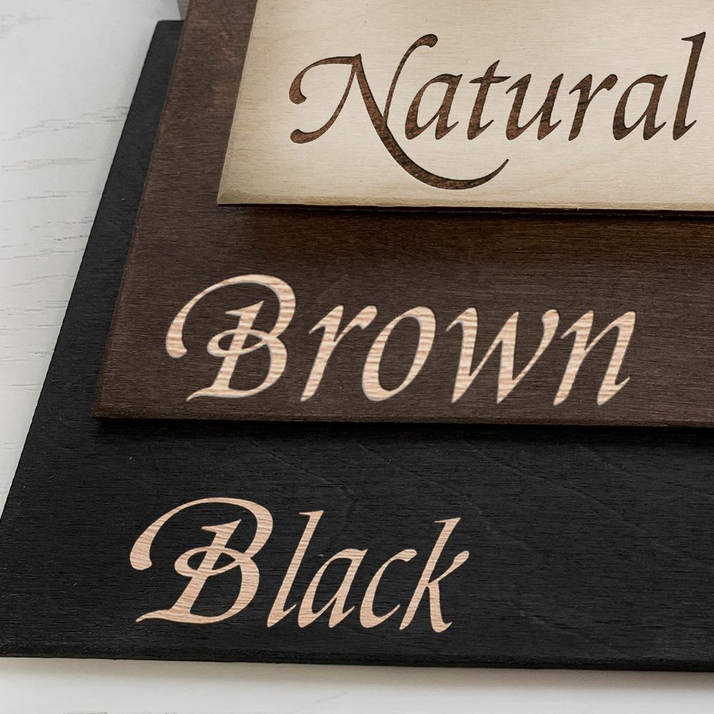 Дерев'яний блокнот з гравіюванням Emblem