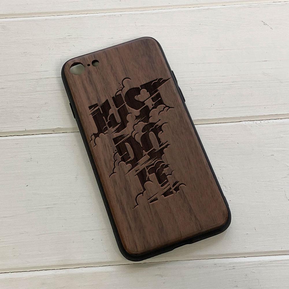 Чохол на Айфон з гравіюванням Just do it