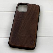 Дерев'яний чохол на iPhone 12