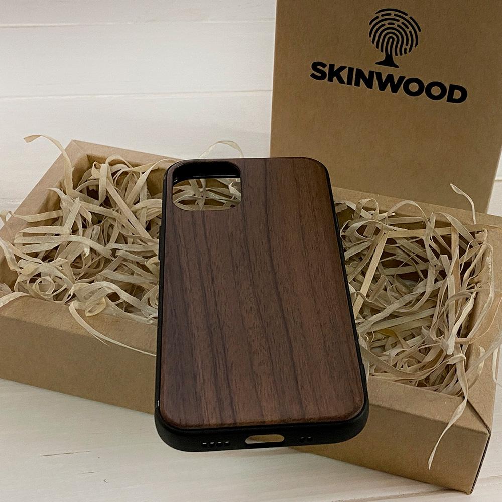 Чохол на Айфон 12 mini з дерева