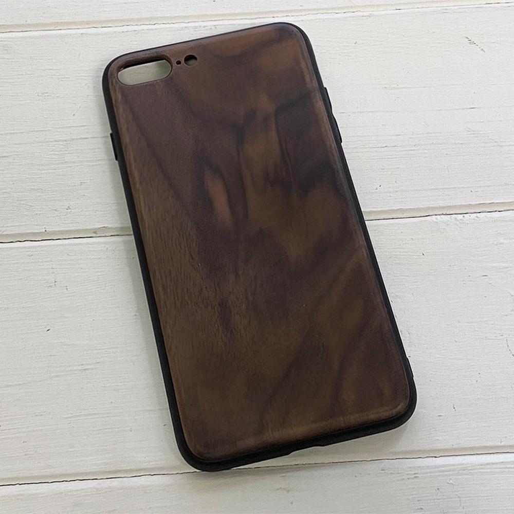 Чохол на Айфон 8 Plus з дерева