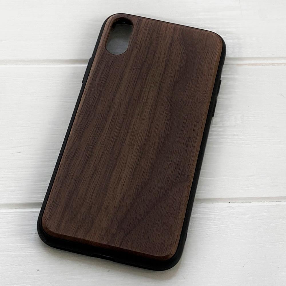 Чохол на Айфон X/XS з дерева