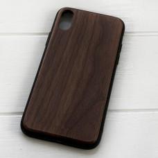 Дерев'яний чохол на iPhone X/XS