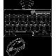 Дерев'яні бездротові клавіатури і мишки