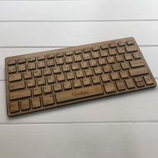 Бездротова клавіатура Slim Keyboard Wood