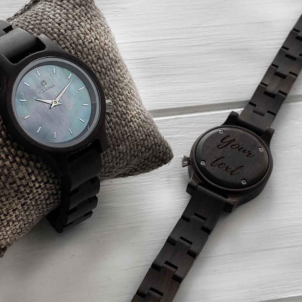 Наручний годинник з дерева BlueStar