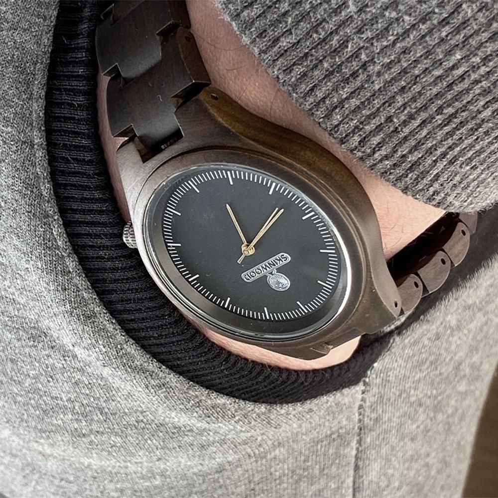 Наручний годинник з дерева Elegant