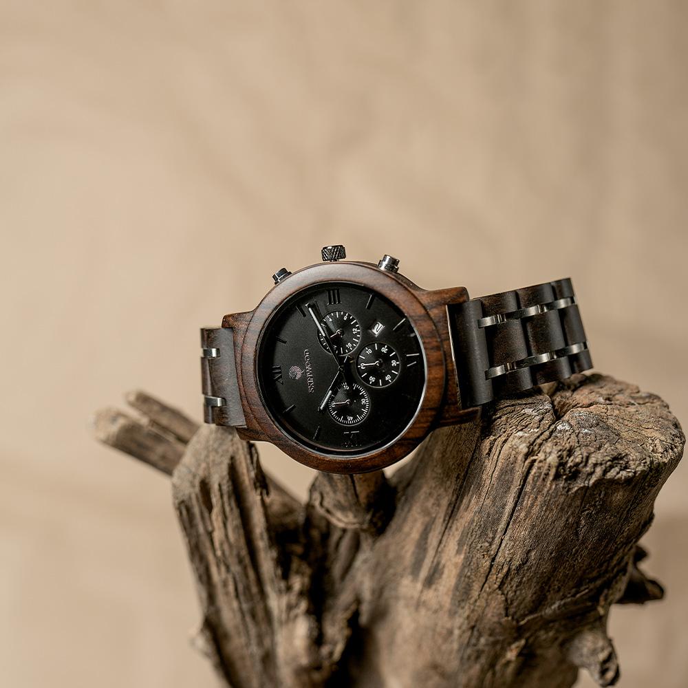 Наручний годинник з дерева SkyLine