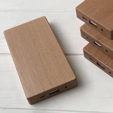 Дерев'яний зовнішній акумулятор Maple